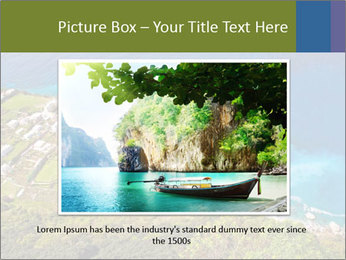 Boat on capri island PowerPoint Templates - Slide 16