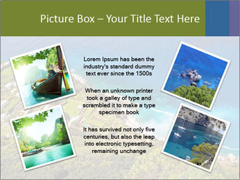 Boat on capri island PowerPoint Templates - Slide 24