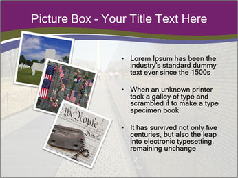 Vietnam and Washington Monument PowerPoint Templates - Slide 17
