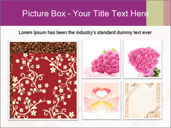 Vintage lace PowerPoint Template - Slide 19