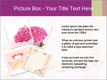 Vintage lace PowerPoint Template - Slide 23