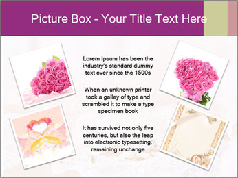 Vintage lace PowerPoint Template - Slide 24