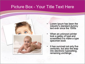Pair of pink Babies shoes PowerPoint Template - Slide 20