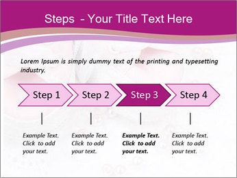 Pair of pink Babies shoes PowerPoint Template - Slide 4
