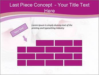 Pair of pink Babies shoes PowerPoint Template - Slide 46