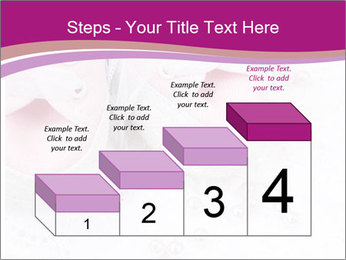 Pair of pink Babies shoes PowerPoint Template - Slide 64