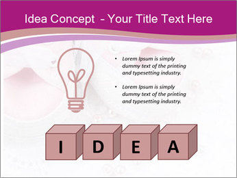 Pair of pink Babies shoes PowerPoint Template - Slide 80