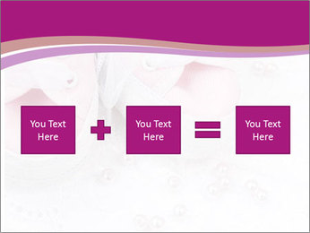 Pair of pink Babies shoes PowerPoint Template - Slide 95