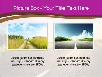 Empty road PowerPoint Template - Slide 18