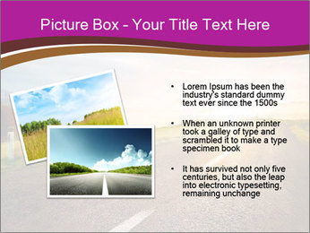 Empty road PowerPoint Template - Slide 20