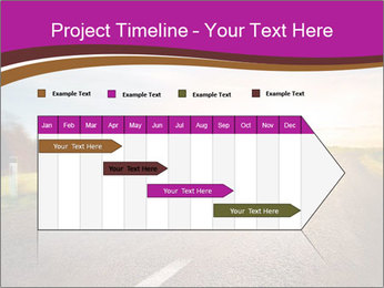 Empty road PowerPoint Template - Slide 25