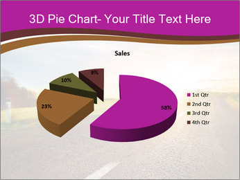 Empty road PowerPoint Template - Slide 35
