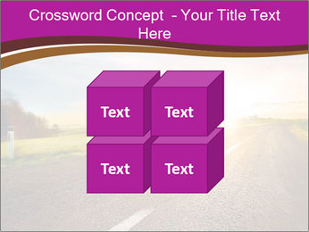 Empty road PowerPoint Template - Slide 39