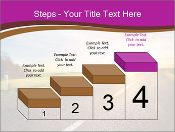 Empty road PowerPoint Template - Slide 64