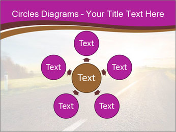 Empty road PowerPoint Template - Slide 78