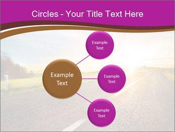 Empty road PowerPoint Template - Slide 79