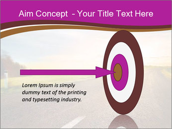 Empty road PowerPoint Template - Slide 83