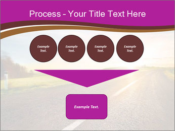 Empty road PowerPoint Template - Slide 93
