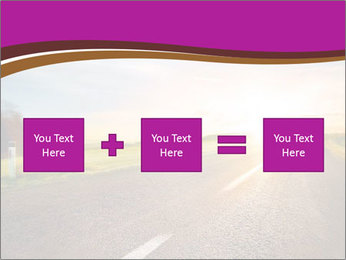 Empty road PowerPoint Template - Slide 95