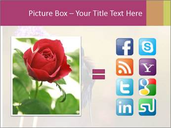 The flower PowerPoint Template - Slide 21