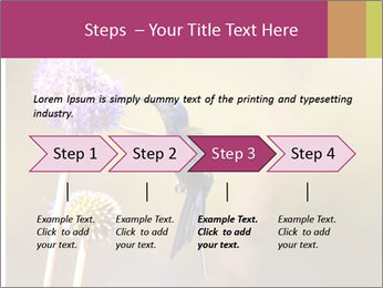 The flower PowerPoint Template - Slide 4