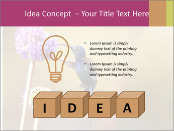 The flower PowerPoint Template - Slide 80