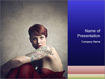 Elegant woman PowerPoint Templates - Slide 1