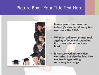 Little student PowerPoint Templates - Slide 13