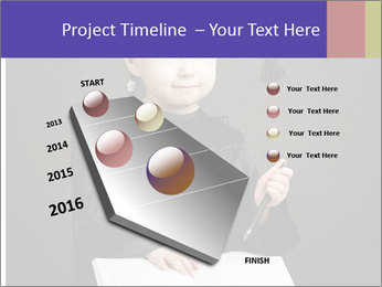 Little student PowerPoint Templates - Slide 26