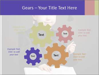 Little student PowerPoint Templates - Slide 47