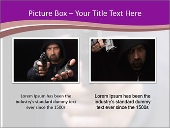 Man with gun PowerPoint Template - Slide 18