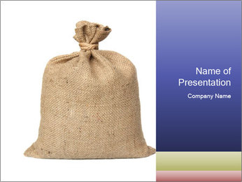 Bag PowerPoint Templates - Slide 1