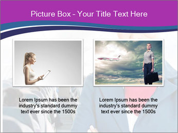 Beautiful flight attendant PowerPoint Template - Slide 18