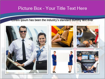 Beautiful flight attendant PowerPoint Template - Slide 19
