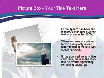 Beautiful flight attendant PowerPoint Template - Slide 20