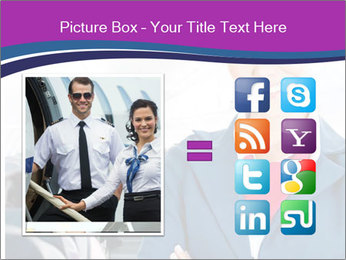 Beautiful flight attendant PowerPoint Template - Slide 21