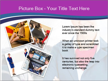 Beautiful flight attendant PowerPoint Template - Slide 23