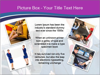 Beautiful flight attendant PowerPoint Template - Slide 24