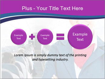 Beautiful flight attendant PowerPoint Template - Slide 75
