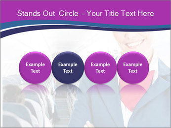 Beautiful flight attendant PowerPoint Template - Slide 76