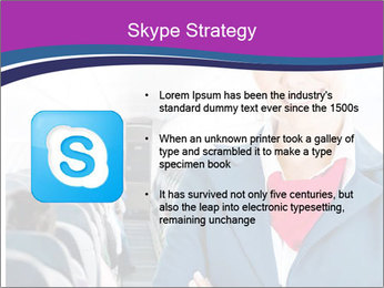 Beautiful flight attendant PowerPoint Template - Slide 8