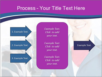 Beautiful flight attendant PowerPoint Template - Slide 85