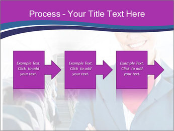 Beautiful flight attendant PowerPoint Template - Slide 88