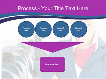 Beautiful flight attendant PowerPoint Template - Slide 93
