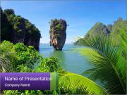 Island PowerPoint Template