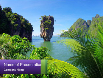 Island PowerPoint Templates - Slide 1