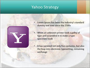 Barbecue, steak PowerPoint Template - Slide 11