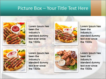 Barbecue, steak PowerPoint Template - Slide 14