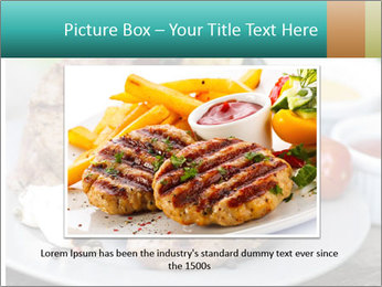 Barbecue, steak PowerPoint Template - Slide 15