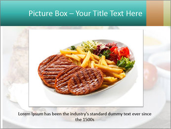 Barbecue, steak PowerPoint Template - Slide 16